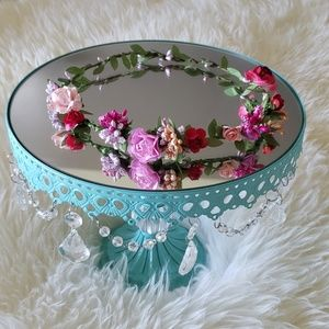 Bohemian Flower Crown Wreath Bride/Flower girl